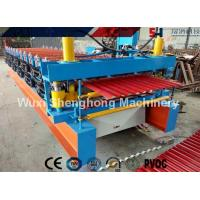 Wholesale Durable Roofing Corrugated Sheet Roll Forming Machine High Speed For Roof Panel from china suppliers