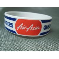 Wholesale Trade Show Promotional Items Giveaways Embossed Silicone Wristband Bracelet from china suppliers