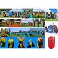 Wholesale Sports CS Games Inflatable Paintball Bunkers Set With 3 Years Warranty from china suppliers