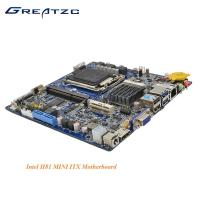 Wholesale Dual Display i3 Processor LGA1150 Motherboard VGA HDMI LVDS Mini ITX Motherboard With Wifi from china suppliers