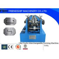 Wholesale Automatic C Z Purlin Roll Forming Machine 1.5 - 3.0mm Thickness from china suppliers