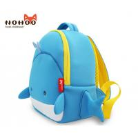 Wholesale 3d Cartoon Whale Toddler Book Bag / Big School Bag Personalized from china suppliers