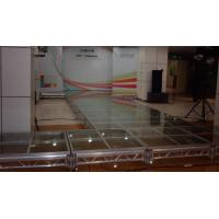 Wholesale T Shape Acrylic Stage Platform / Portable Aluminum Catwalk Stage from china suppliers