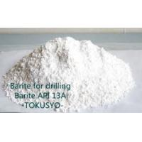 Wholesale Weighting Material Barite API 13A Powder For Oil Drilling Fluids from china suppliers