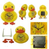 Wholesale Yellow Duck Design Alarm Clock for Home Decoration from china suppliers