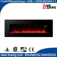 """Wholesale 50"""" long linear wall mounted fireplace WF-50FS 2000W real flame comfort smart space heater indoor room decoration from china suppliers"""