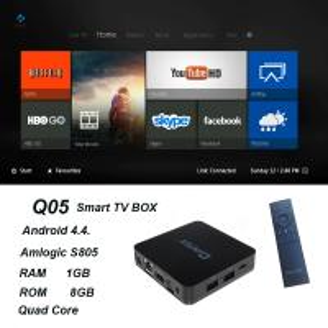 QINTAIX Hot Amlogic S805 TV Box with Quad Core smart TV box Support H.265 Q05 ITPV channels