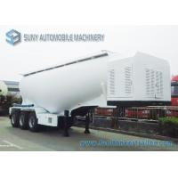 Wholesale 42m3 Capacity Three Axle Semi Tanker Trailers Q345 / AL5083 Material from china suppliers