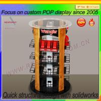 Wholesale Advertising Equipment four sides acrylic rotating watch display case from china suppliers