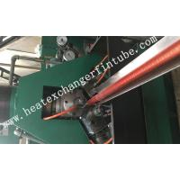 Buy cheap Carbon Steel Extruded Fin Tube Machine , Fin Average Thickness  0.3mm from wholesalers