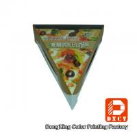 Wholesale Glossy Varnishing Food Grade Pizza Packaging Boxes Triangle Single Slice Pizza Box from china suppliers