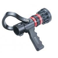 Wholesale Flow Aluminum / Brass Fire Hose Nozzle Storz Type With Pistol Grip Adjust from china suppliers