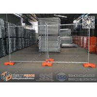 Buy cheap 2.1m high Temporary Fence Panels for construction site 14microns hot dipped galvanized zinc layer from wholesalers