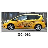 Wholesale Modern PVC Decorative Designer Car Body Sticker QC-062C from china suppliers