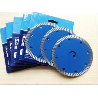 Buy cheap Premium quality diamond turbo saw blade for tiles cutting from wholesalers