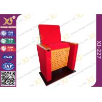 Wholesale Two Pieces Type Back Rest Theater Seating Chairs With Full Upholstered Cover Leg from china suppliers