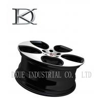 Quality Cast Rotiform Replica Wheels Rims Hyper Black Sliver Lip Customized for sale