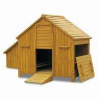 Wholesale Chicken Coops, Large Wooden Poultry Coop with Waterproof Roof, Made of Chinese Fir from china suppliers