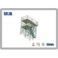 Wholesale Hot Dip Galvanized Ringlock Modular Scaffold System With Q345 Steel from china suppliers
