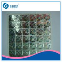 Wholesale Hologram Product Stickers And Labels , Security Stickers For Computers from china suppliers