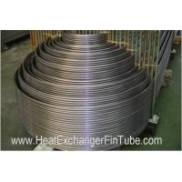 Wholesale High Precision Heat Exchanger U Tube for superheater / economizer from china suppliers