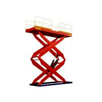 Wholesale 900 / 2000 / 4000 kg Electric Fork Fixed Hydraulic Lifting Platform, electric lift platfor from china suppliers