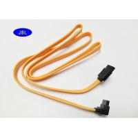 Wholesale 90 Degrees 7 Pin SATA Data Cable Serial Hard Drive Data Cable 1000MM from china suppliers