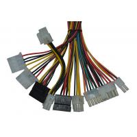 Wholesale Universal 6 Pin Electric Wire Harness 20AWG Coaxial Cable Assembly For Power Supply from china suppliers