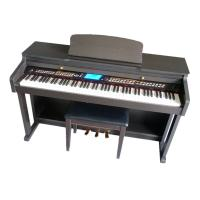 Wholesale Hammer Action Keyboard 88 key Digital Piano / Electronic Piano With Stool DP8808 from china suppliers