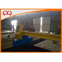 Wholesale CNC Plasma Cutting Metal Steel Machine / Gantry Pasma Cutter Machine For High Accurcy from china suppliers