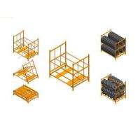 Wholesale Heavy Duty Stacking Metal Truck Tire pallet storage racks for Warehouse from china suppliers