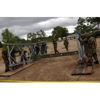 Wholesale Military Painted Modular Steel Bridges Bailey Truss Bridge With Steel Deck from china suppliers