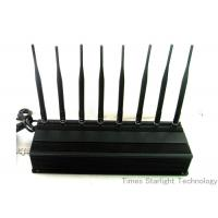 Wholesale 8 Antennas 4G GPS WiFi Cellphone Jammer / UHF VHF Lojack Cellular Signal Blocker from china suppliers
