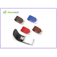 Wholesale Bulk Promotional Leather USB Flash Disk Drive 4GB 8GB 62mm*27*12mm from china suppliers