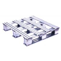 Wholesale Silvery White Recyclable Stainless Steel Pallets With High Polish Finish from china suppliers