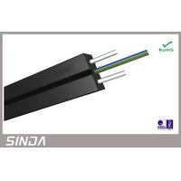Wholesale Steel 4 Cores Drop FTTH Fiber Optic Cable , optical fiber multimode from china suppliers