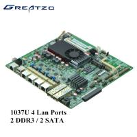 Wholesale 2 DDR3 / 2 SATA Industrial Quad LAN Motherboard Support BYPASS / 2 SFP from china suppliers