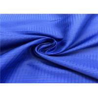 China 100% Polyester Anti Static Lining Fabric Lattice Pattern With High Color Fastness for sale