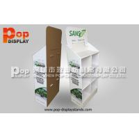 Wholesale 4 Tiers Retail Corrugated Paper Cell Floor Display  Supermarket Rack Stand from china suppliers