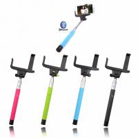 Wholesale Selfie Handheld Monopod Stick + Phone Holder + Bluetooth Wireless  smart phone digital Cam from china suppliers