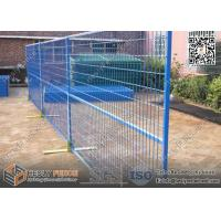 Wholesale Blue Color Movable Temporary Construction Fencing 1.8m high x 2.75m Width from china suppliers