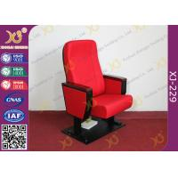 Wholesale ABS PP Plastic Writing Table Auditorium Chairs With Folding Soft Seat Pad from china suppliers