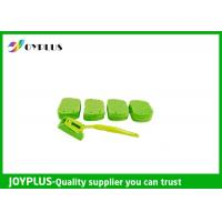 Wholesale Kitchen Home Cleaning Tool Dish Cleaning Pads With Long Handle Green Color from china suppliers