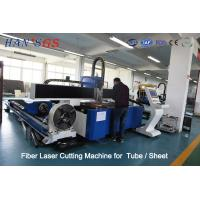 Quality 380V / 50Hz / 60Hz CNC Fiber Laser Cutting Machine For Tube / Sheet Cutting for sale