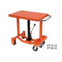 Wholesale Customized Center Post Lift Table , Long Deck Post Industrial Lift Tables from china suppliers