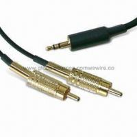 Wholesale Stereo Cable Harness with Wire to connect Laptop, Computer, Macbook, iPod, TV and Car from china suppliers