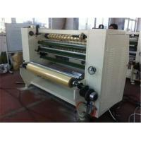 Wholesale Stationary Bopp Tape Slitter Rewinder Machine For Double Sided Tape / Masking Tape from china suppliers