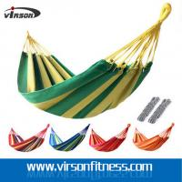 Wholesale Virson Portable Colourful Canvas Hammocks for Travel Camping from china suppliers