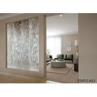 Quality Art Interior Carved Decorative Panels For Room Dividers , Laminated Glass for sale