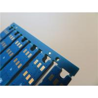 Wholesale Selective Hard Gold PCB Built On 0.8mm FR-4 with 2 Layer Copper from china suppliers